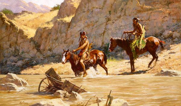 The River's Gift Howard Terpning