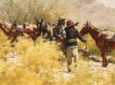 The Scouts of General Crook - Howard Terpning