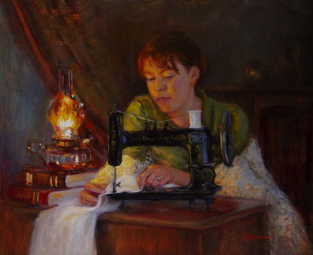 The Seamstress - Catherine Marchand