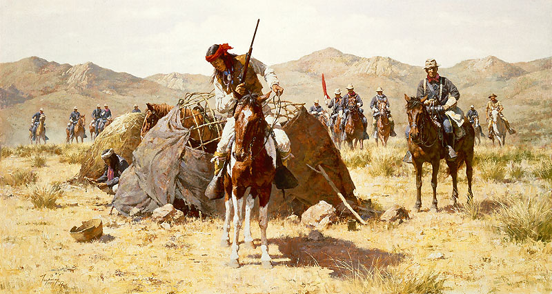 The Second Geronimo Campaign Howard Terpning