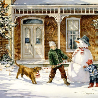 The Snowman Trisha Romance