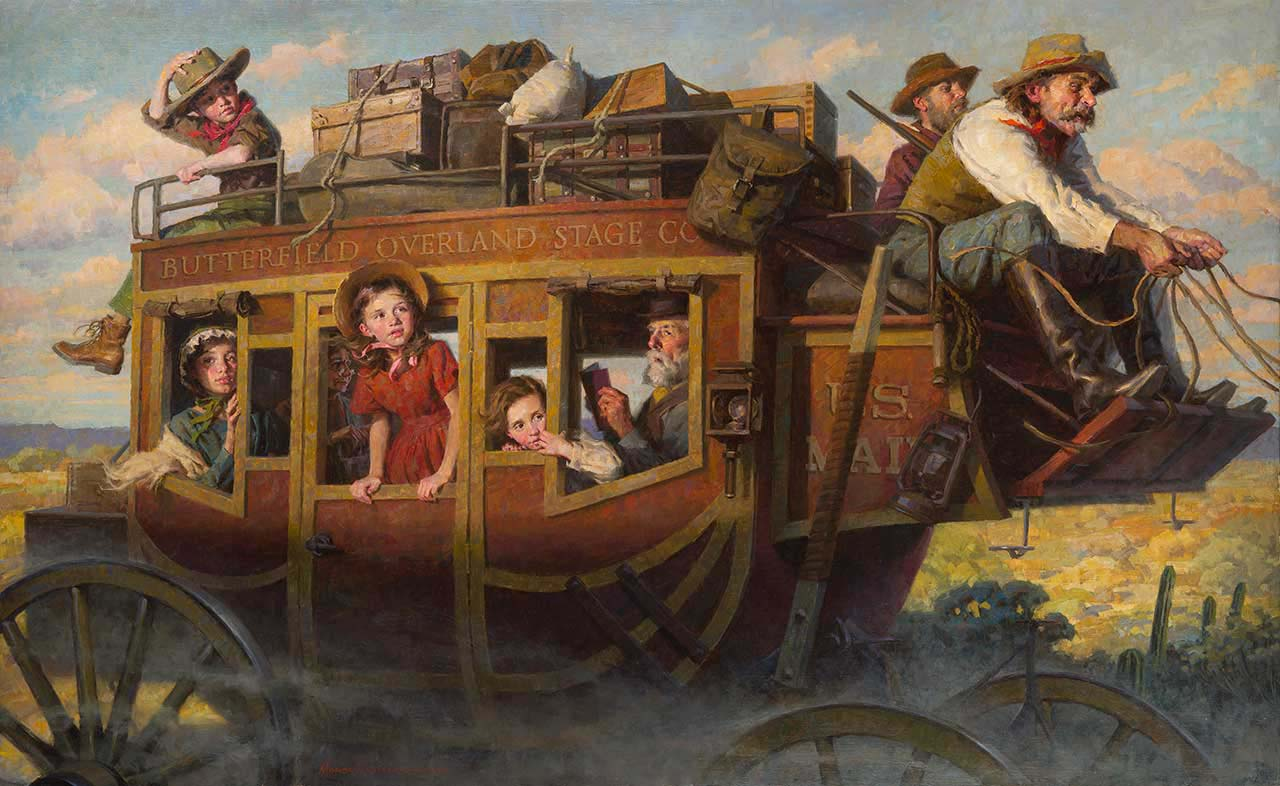 The Stagecoach Journey - Morgan Weistling