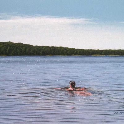 The Swimmer Wayne Mondok