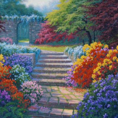 The Terraced Garden Charles White