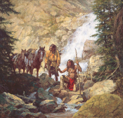 The Trackers Howard Terpning