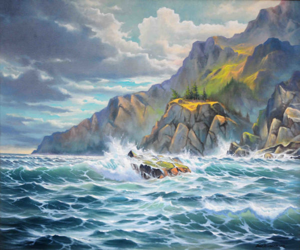 The Viridian Sea Jonn Einerssen