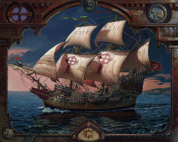 The Voyage of the Fianna - Dean Morrissey