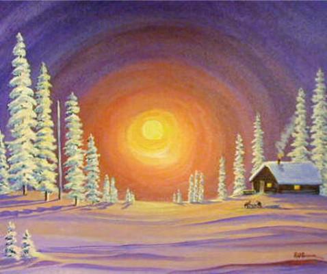 The Warm Arctic Bern Will Brown