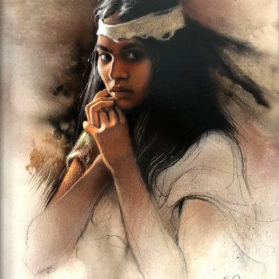 The Watchful Maiden - Lee Bogle