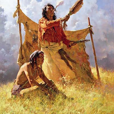 The Weather Dancer Dream - Howard Terpning