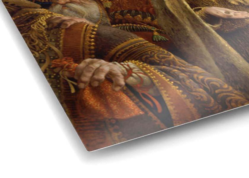 The Widow's Mite - James Christensen (Infinity Aluminum Edition - Close Up)