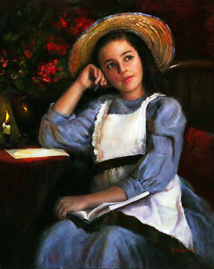 The Young Novelist - Catherine Marchand