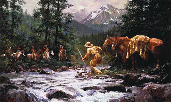 They Came From Nowhere Howard Terpning