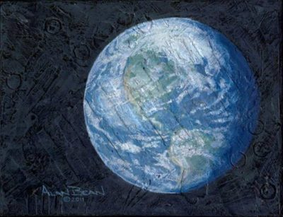 This Beautiful Planet is Revolving Around the Three of Us - Alan Bean