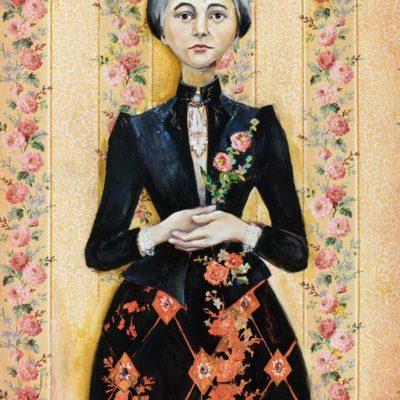 Thistles And Lilies Abigail Starbuck Coffin - Cassandra Christensen Barney