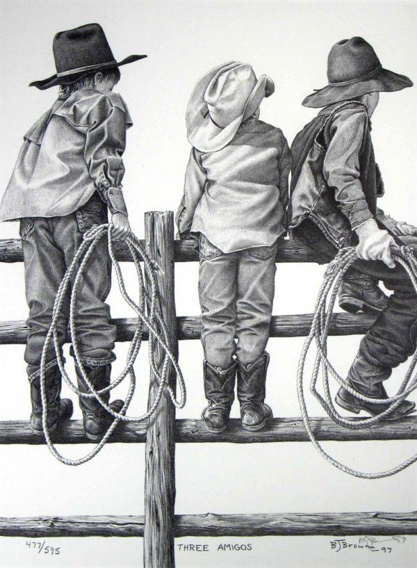 Three Amigos - Bernie Brown