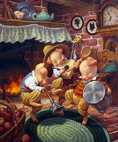 Three Little Pigs Scott Gustafson