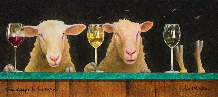 Three Sheeps to the Wind - Will Bullas