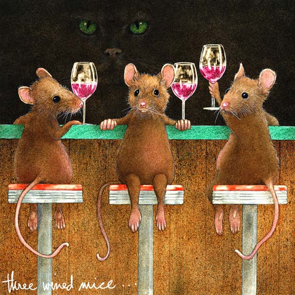 Three Wined Mice - Will Bullas