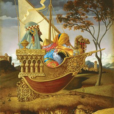 Three Wise Men In A Boat James Christensen