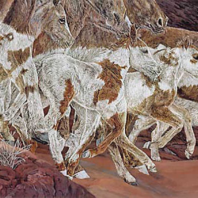 Three Wolves Judy Larson