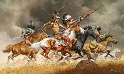 Thunder Across the Plains - Frank McCarthy