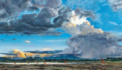 Thunder Over Eburru - Study - Guy Combes