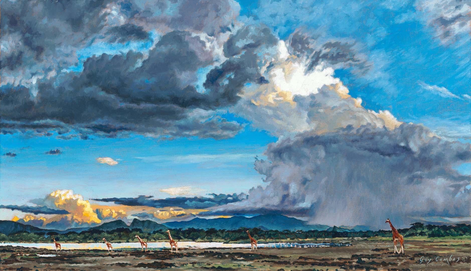 Thunder Over Eburru - Study - Guy Combes