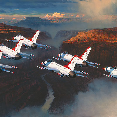 Thunder In The Canyon William S. Phillips