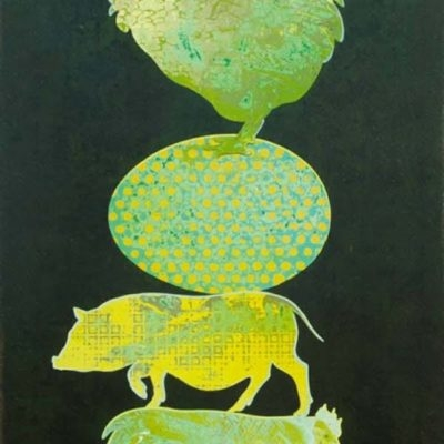 Tiny Totem #1 - Green Eggs & Ham - Andrew Denman