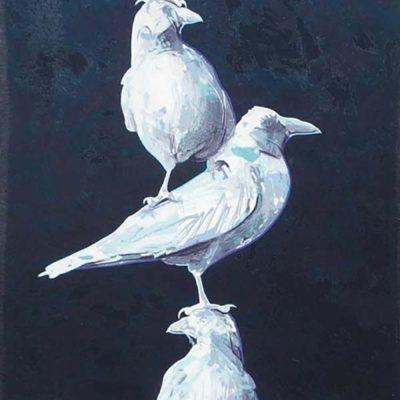 Tiny Totem #2 - Reverse Ravens - Andrew Denman