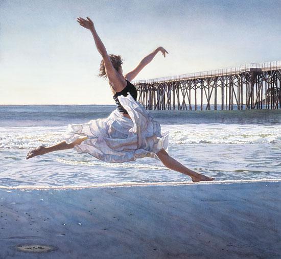To Dance Before The Sea Sky Steve Hanks