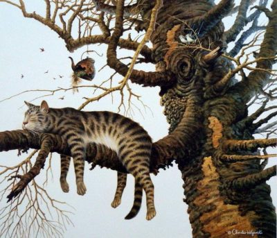 Too Pooped To Participate - Charles Wysocki