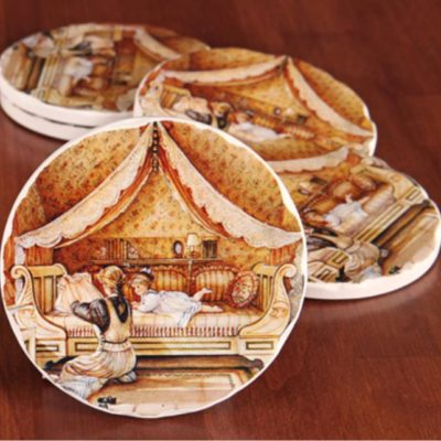 Treasure Chest Coasters Trisha Romance
