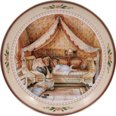Treasure Chest Collector Plate Trisha Romance