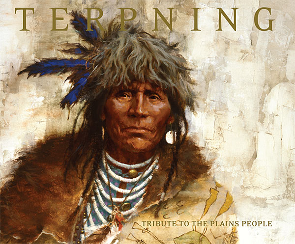 Tribute To The Plains People Book Howard Terpning