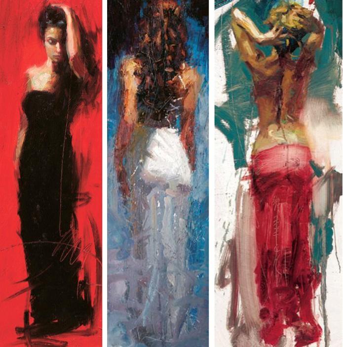 Trilogy Scarlet Beauty Blue Rhapsody Graceful Splendor Henry Asencio