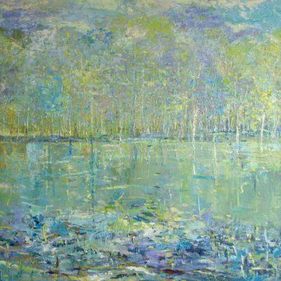 Turquoise Lake - Fiona Hoop