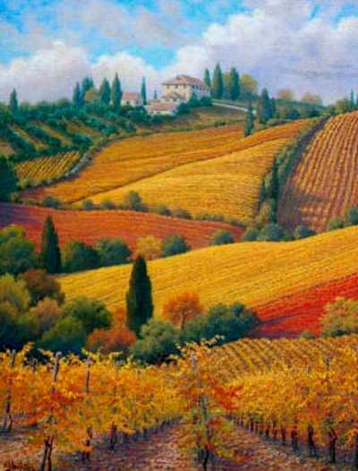 Tuscan Colors Charles White