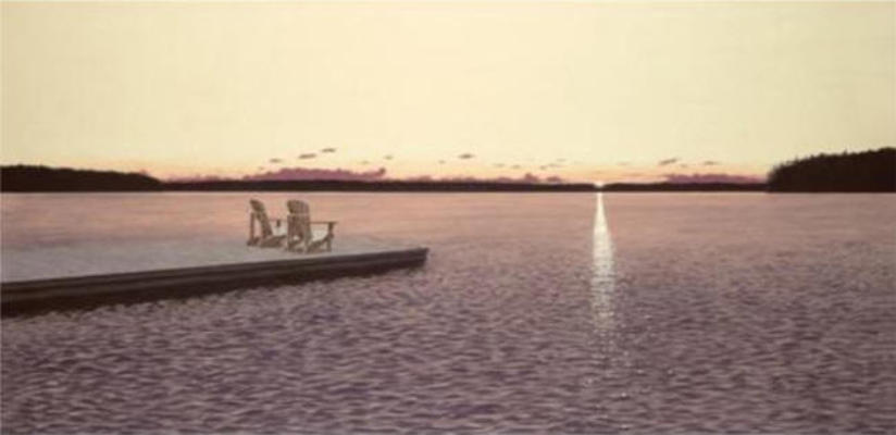 Twilight Reflection Wayne Mondok