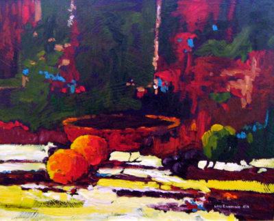Two Oranges Lois Bauman