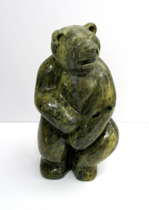Upright Bear - Green - Jim Flaman