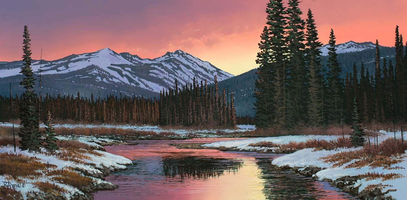Valley Sundown - Roger Arndt