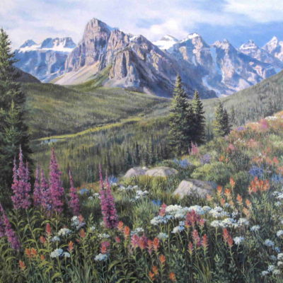Valley Of The Ten Peaks Isabel Levesque