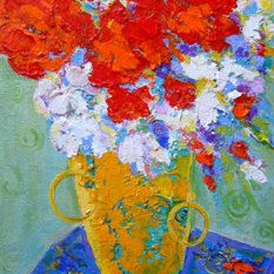Van Gogh Flowers Marilyn Hurst