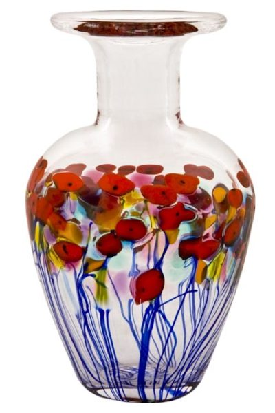 Vase California Red Poppy Robert Held