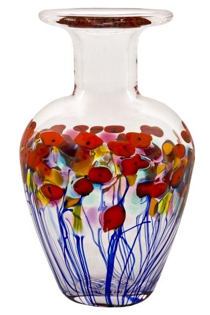 Vase California Red Poppy Robert Held