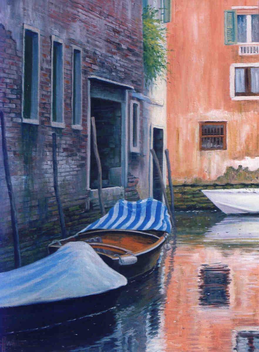 Venetian Lines Charles White
