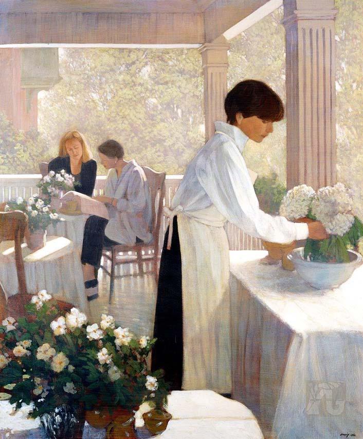 Verandah Cafe - Philip Craig
