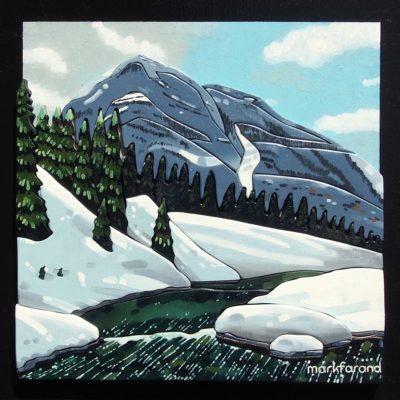 Vermillion Peak - Mark Farand